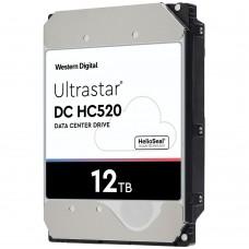 12TB Western Digital Ultrastar DC HC520 (SATA 6Gb/s) HUH721212ALE604